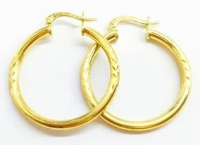 844726b60810 Aretes Arracada Dama Cartier En Oro Puro 10kt 3   2.7 Cms