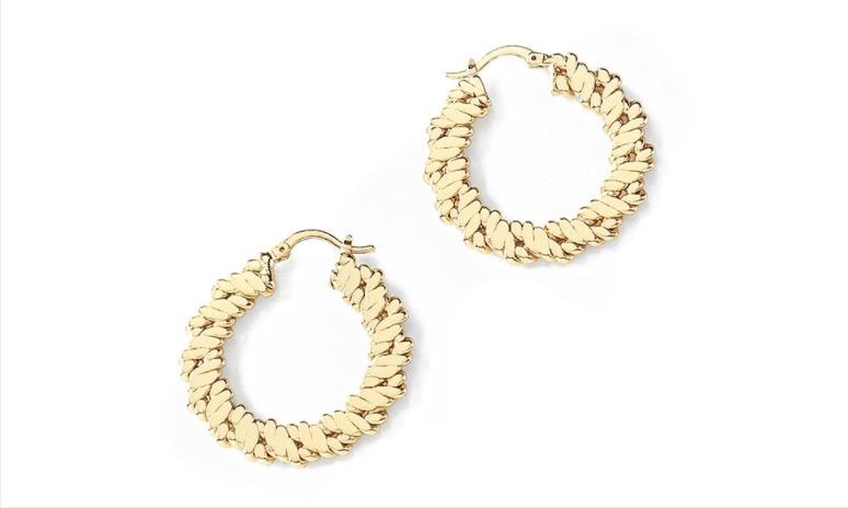 Aretes arracadas dama ba o de oro joyer a nice 399 for Banos electroliticos para joyeria