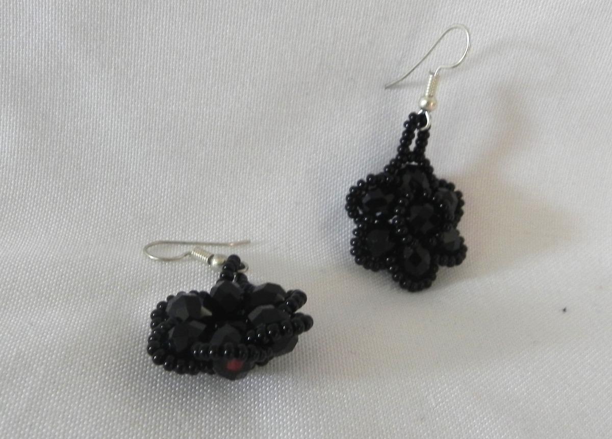 591805e53568 Aretes Artesanales Chiapanecos En Color Negro -   220.00 en Mercado ...