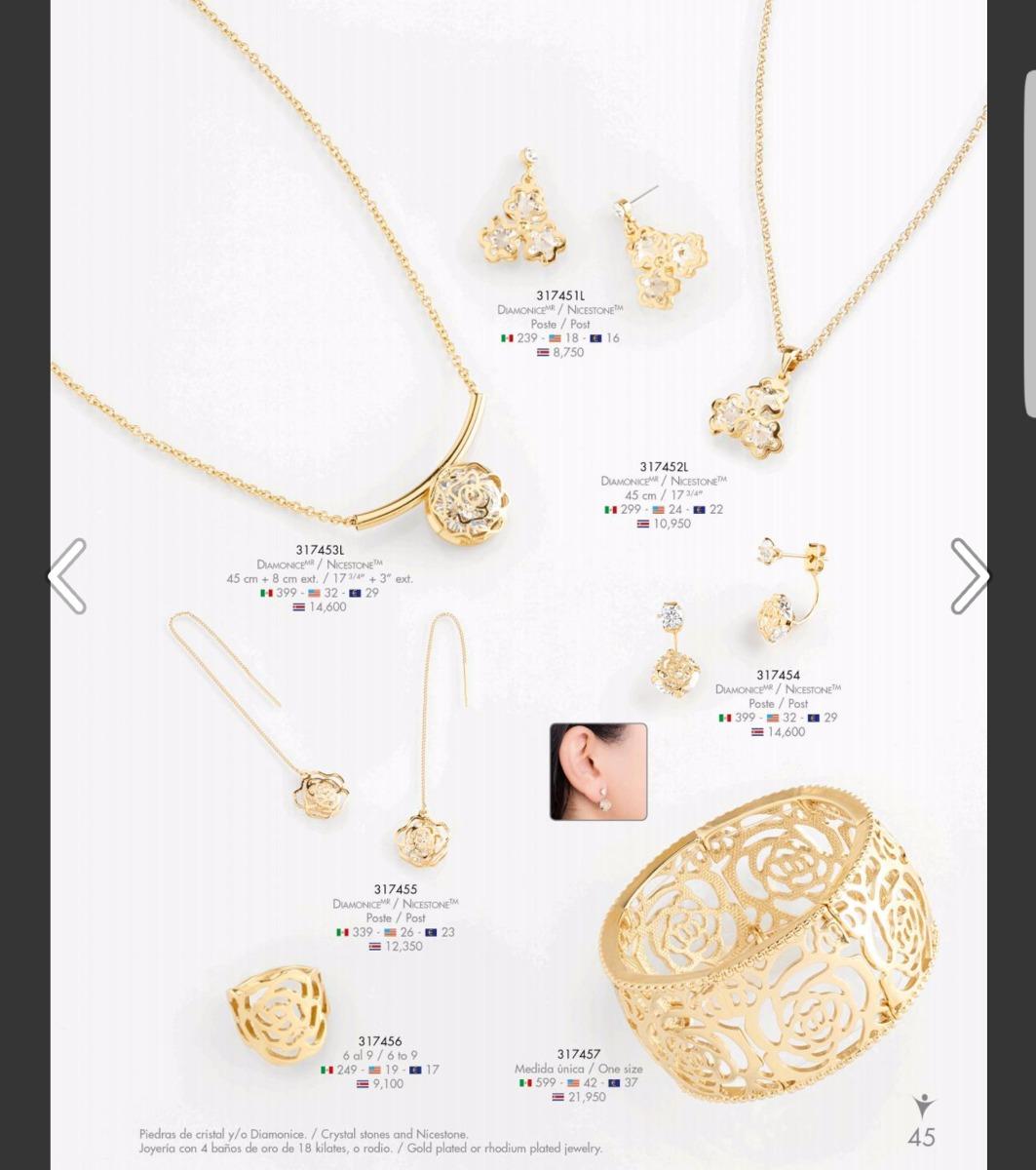 Aretes ba ados en rodio nice joyeria y accesorios for Metal rodio en joyeria