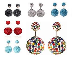 77471c4db657 Aretes De Cebra Doble Bola - Joyas y Relojes en Mercado Libre México