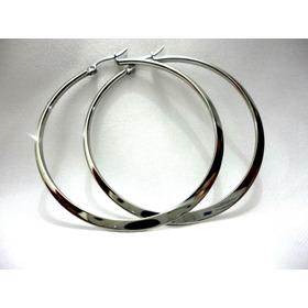 Aretes Circulares De Acero Inox; Varios Tamaños