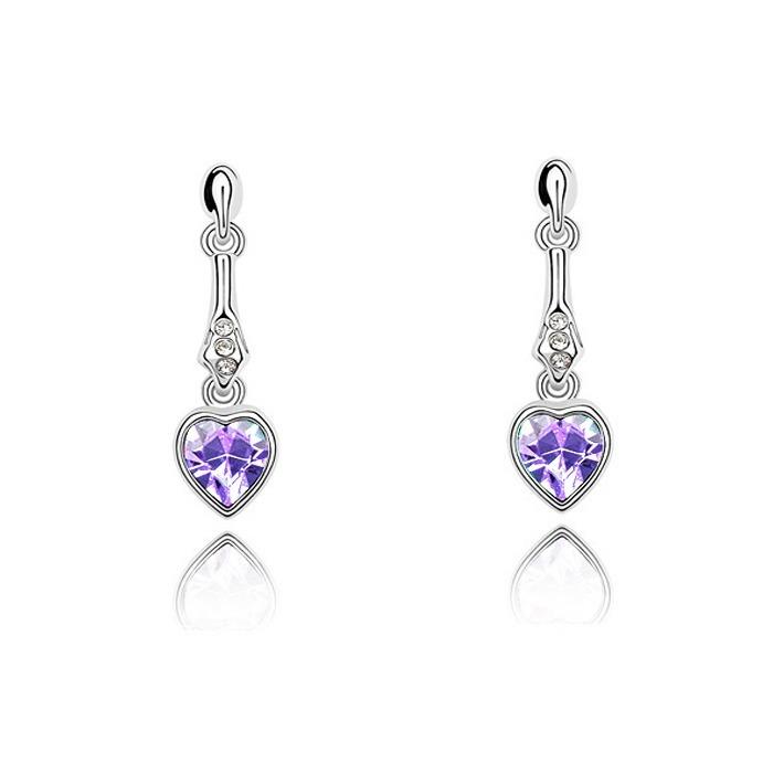 d0284413f472 Aretes Con Cristales Ocean Heart Oh15-294 -   289.00 en Mercado Libre