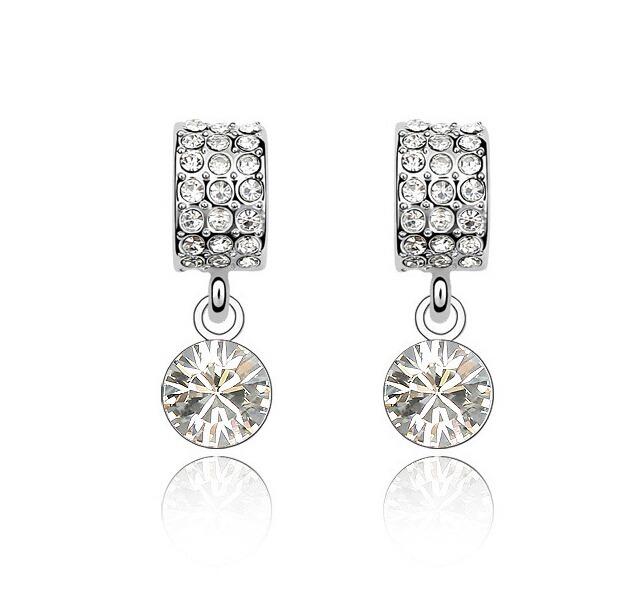96a82a1986d9 Aretes Con Cristales Ocean Heart Oh15-315 -   359.20 en Mercado Libre