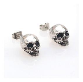 verse bien zapatos venta elegir original comprando ahora Aretes Craneos Calavera Goticos Metal Rock Pendientes