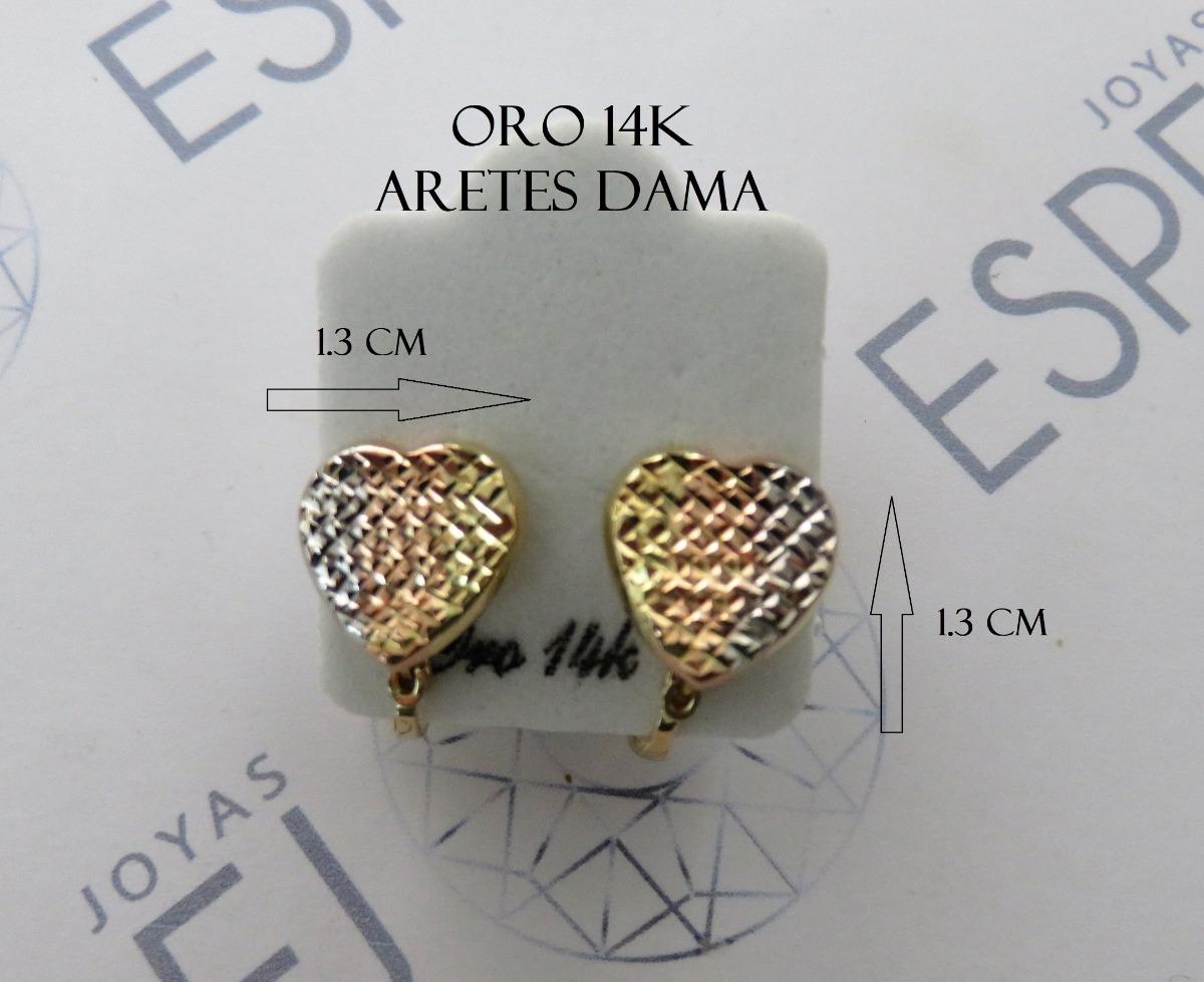 869b9916eeef aretes dama oro 14k con envió gratis. Cargando zoom.