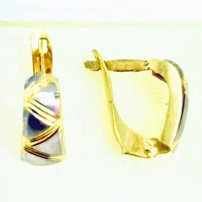58b2f614b083 Arracadas De Oro 14 Kilates Italiano - Aretes Oro en Mercado Libre ...