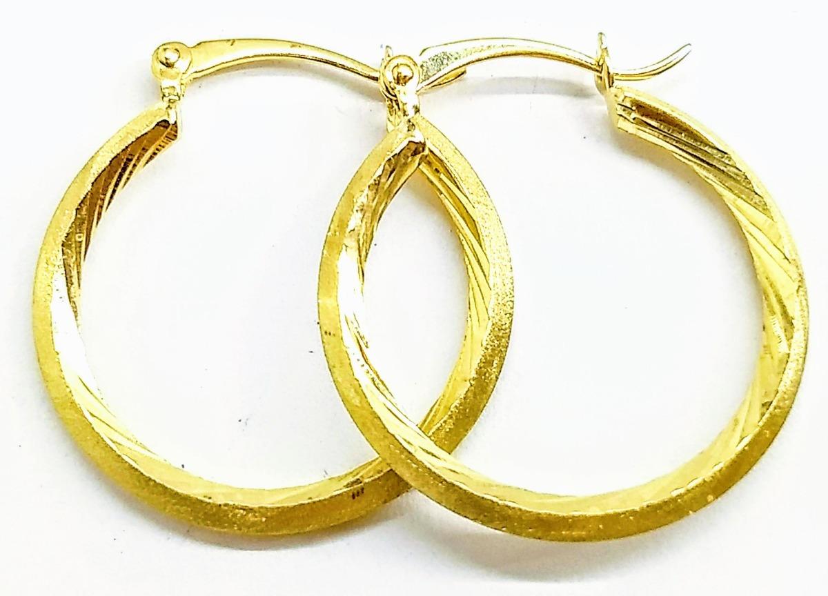 7f89c246809b Aretes De Dama Oro 10 Kilates Arracadas Alto 2.6cm