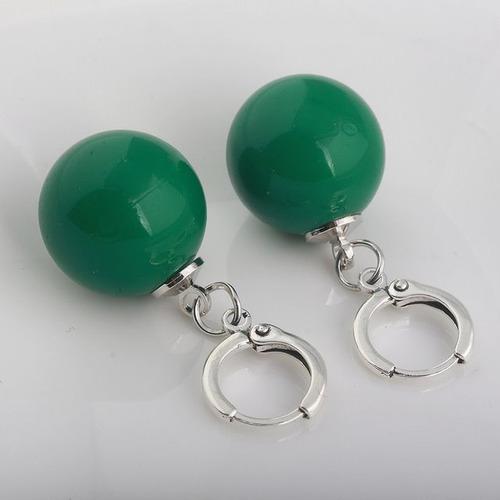 aretes de fusion verdes dragon ball super goku