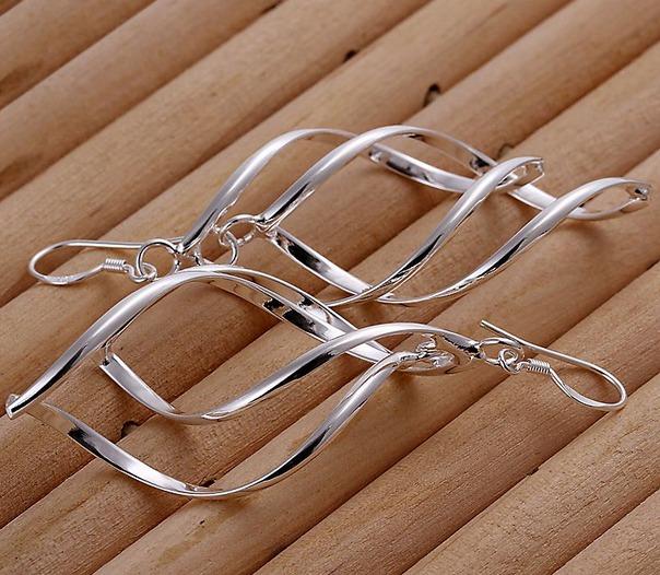 Aretes de hoja de oto o chapado plata 925 a un super precio en mercado libre - Cuberterias de plata precios ...