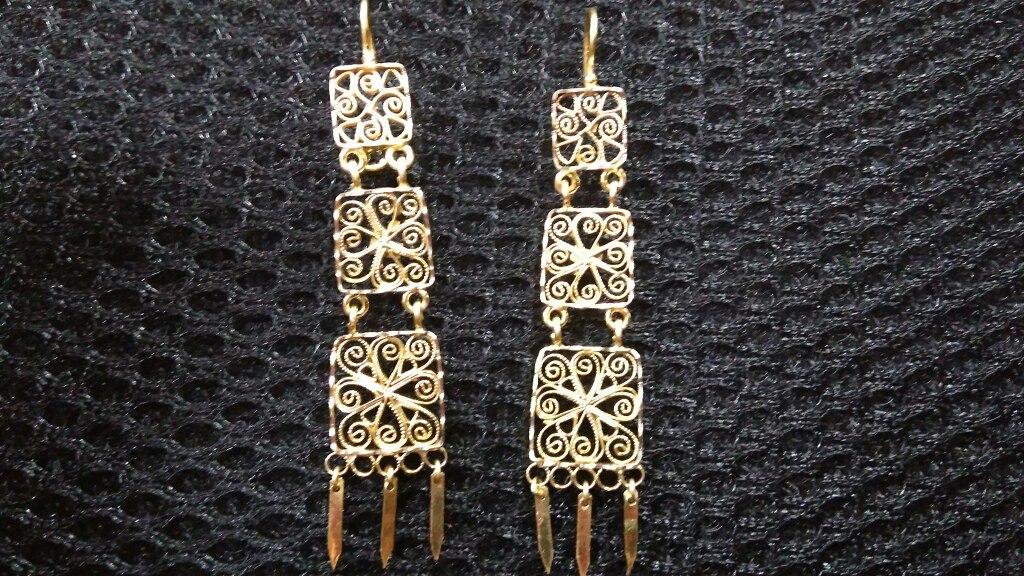 f13cbb909d51 Aretes De Oro Aztecas