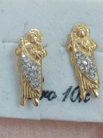 30c42847b513 Aretes De San Judas Tadeo - Aretes Oro en Mercado Libre México