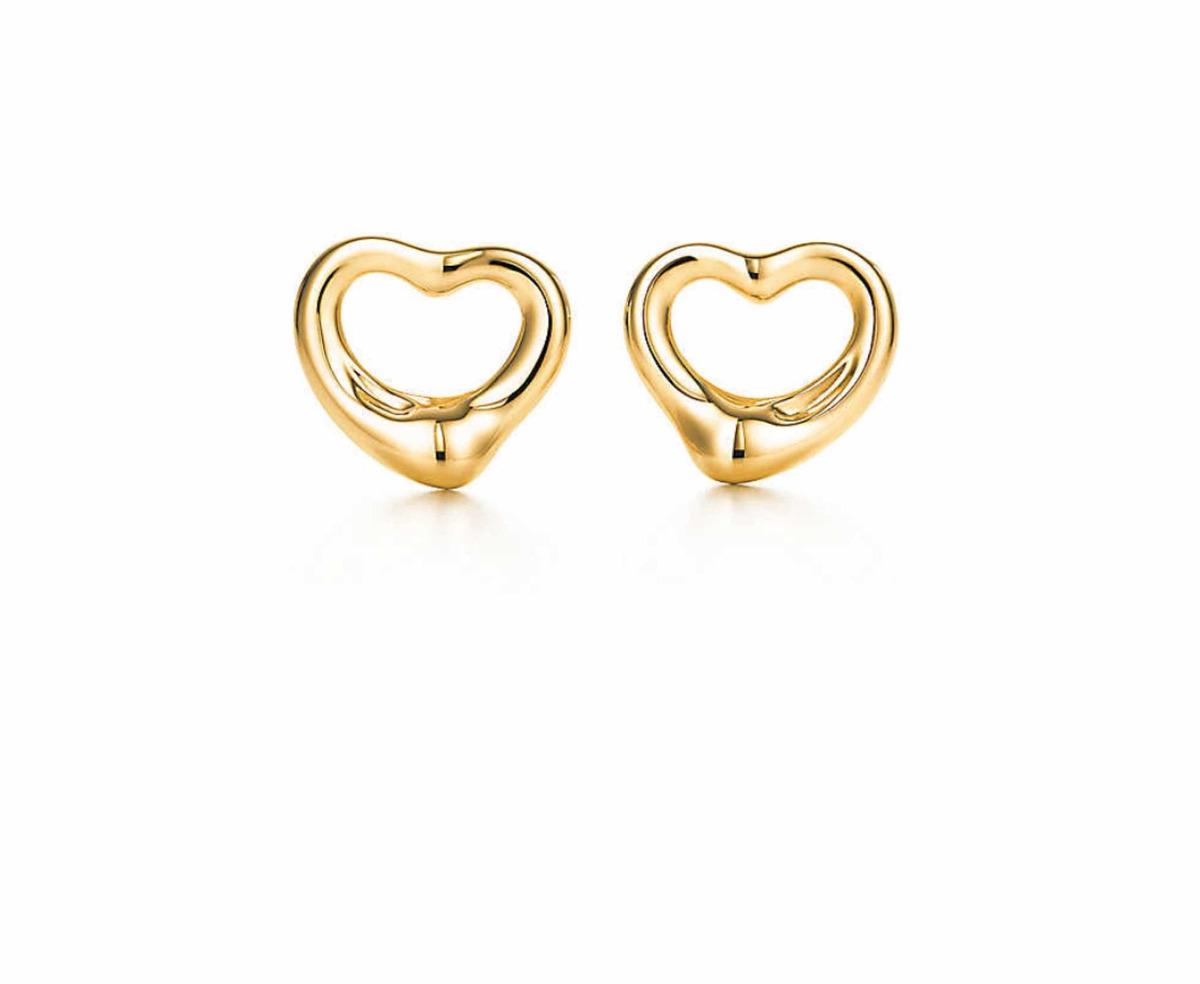 92306b1cea64 aretes de oro open heart elsa peretti tiffany. Cargando zoom.