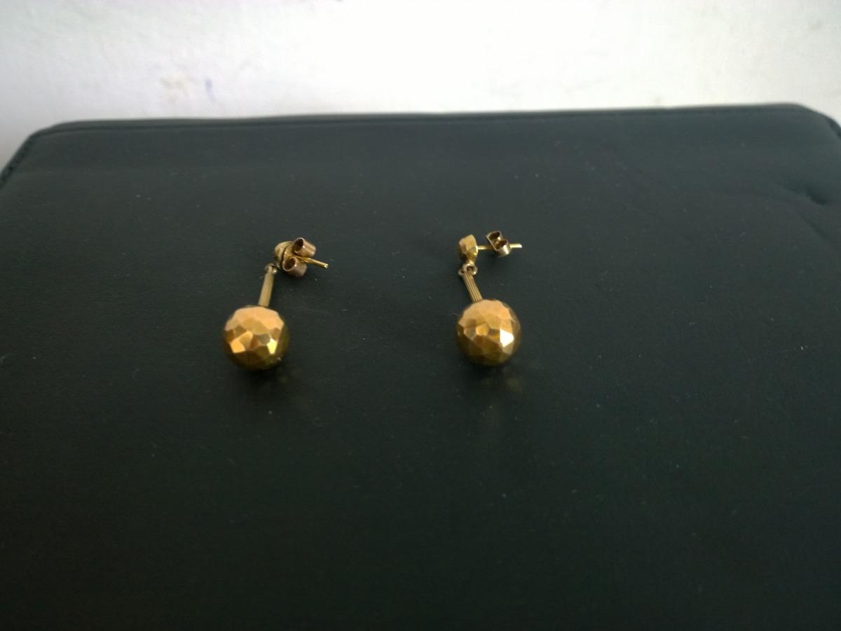 5045c32a460c Cargando zoom... aretes de oro para ...