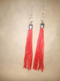 1c7aa8332922 Aretes Borlas Color Rojo en Mercado Libre Colombia