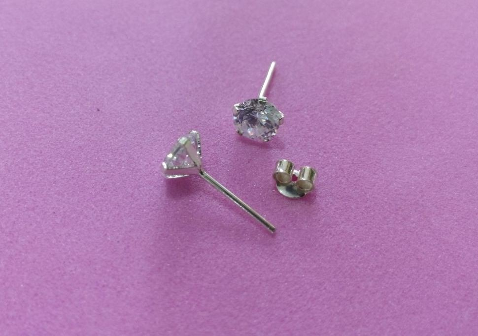 54d81f7af328 aretes en diamantes para hombre plata 925.diamante sintetico. Cargando zoom.