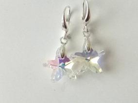 e2ed19b014df Aretes Estrella Swarovski Aurora Boreal Envio Gratis