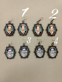 Aretes Frida Kahlo