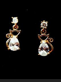 fcc281c36288 Aretes Piedras Blancas - Joyas y Relojes en Mercado Libre México
