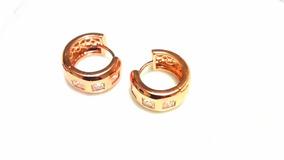 452edb9cf9fd Aretes Huggies Oro Laminado Brillantes Estado De Mexico - Aretes Oro en  Mercado Libre México