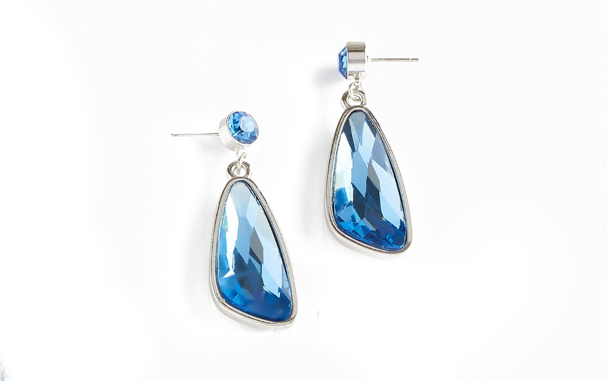 824896505677 Aretes Largos Fiesta De Noche Azules Marca Nice -   549.00 en ...