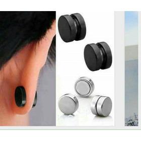 Aretes Magnetico 8mm Imantados Hombres Doble Lado Igual Inox