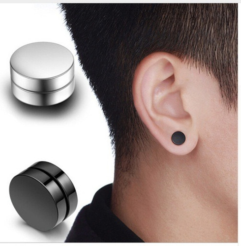 aretes magneticos, piercing sin hueco, pendiente, expansor,