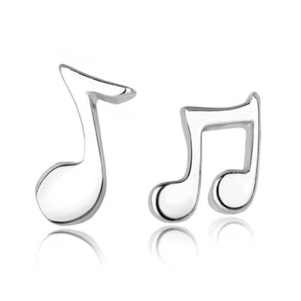 Aretes Notas Musicales S 1000 En Mercado Libre