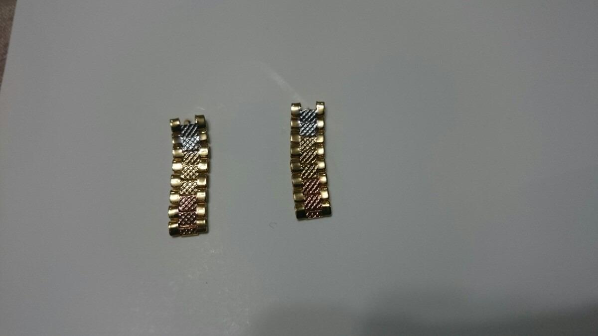 nuevo estilo bd5b0 3c52d Aretes Oro Florentino 24k