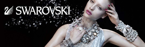 aretes ovalos negros sevil con cristales swarovski