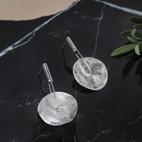 aretes * plata 925 * escudo romano * tuna * envío gratis