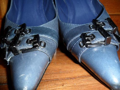 cadd641c7f ... azul marinho couro tdo forrado 36. Carregando zoom... arezzo sapato  scarpin
