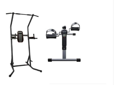 arg919 flexor abdominal-dominadas + mini bike plegable