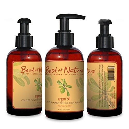 argan body oil -8oz- 100% pure - natural del árbol de argan