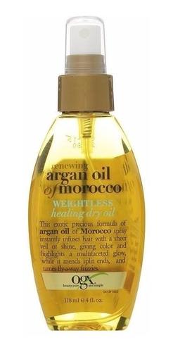 argan oil morocco óleo de argan weightless healing dry oil