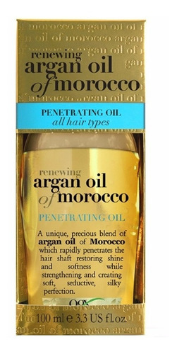 argan oil of morocco - óleo de argan penetrating oil 100ml