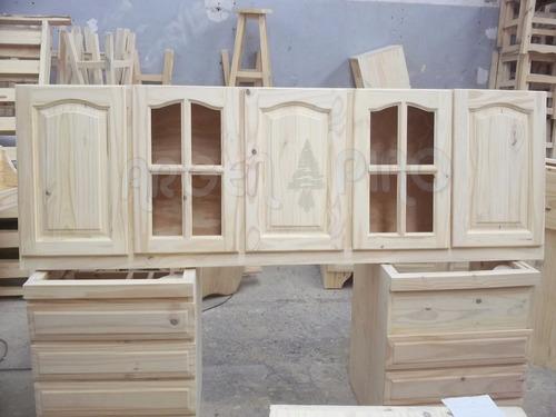 argen pino alacena 2,00 1ra calidad / 5 puertas / fabrica