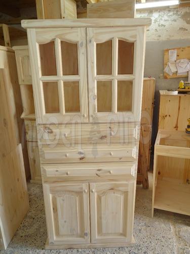 argen pino despensero escobero 0,80 mueble cocina fabrica
