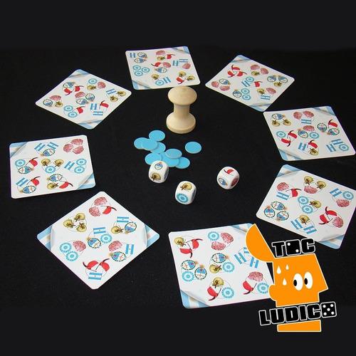 argentidados- juego didáctico muy divertido - toc lúdico