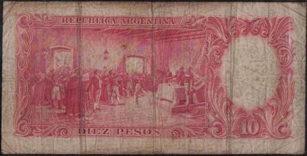 argentina 10 pesos l1935 serie c p265c