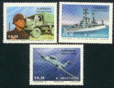 argentina 1992(1886-88) caidos por lapatria