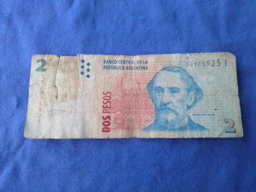 argentina 2 pesos serie i