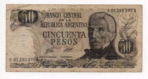 argentina 50 pesos ley bottero 2375 reposición bueno