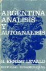 argentina análisis y autoanálisis      h. ernest lewald