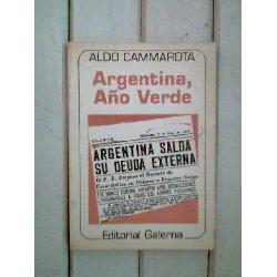 argentina  año verde     aldo cammarota