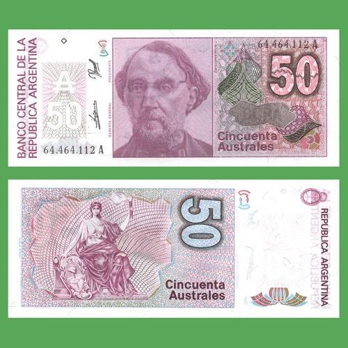 argentina billete australes