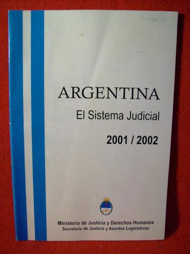 argentina el sistema judicial ministerio justicia 2000 2001