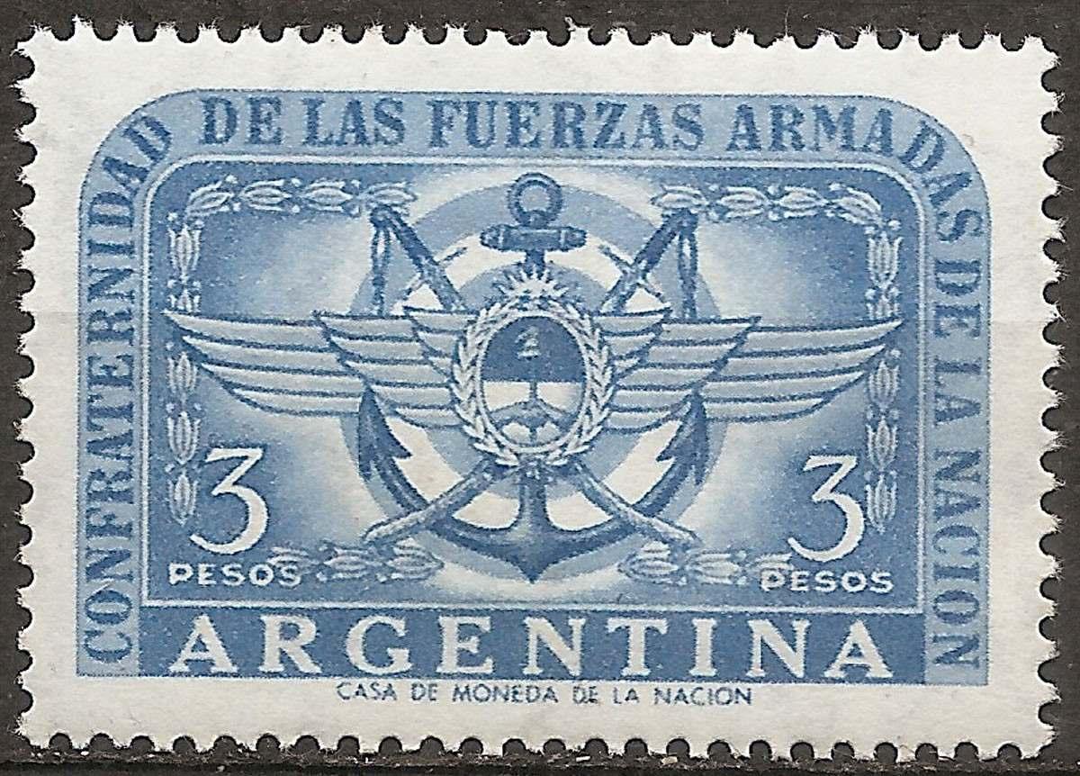 Argentina Gj 1061 Confraternid...