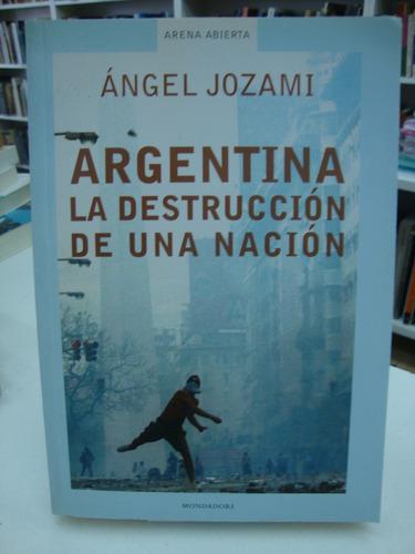 argentina, la destruccion de una nacion - angel jozami