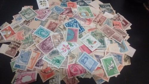 argentina. lote de 150 sellos diferentes seleccionadas.